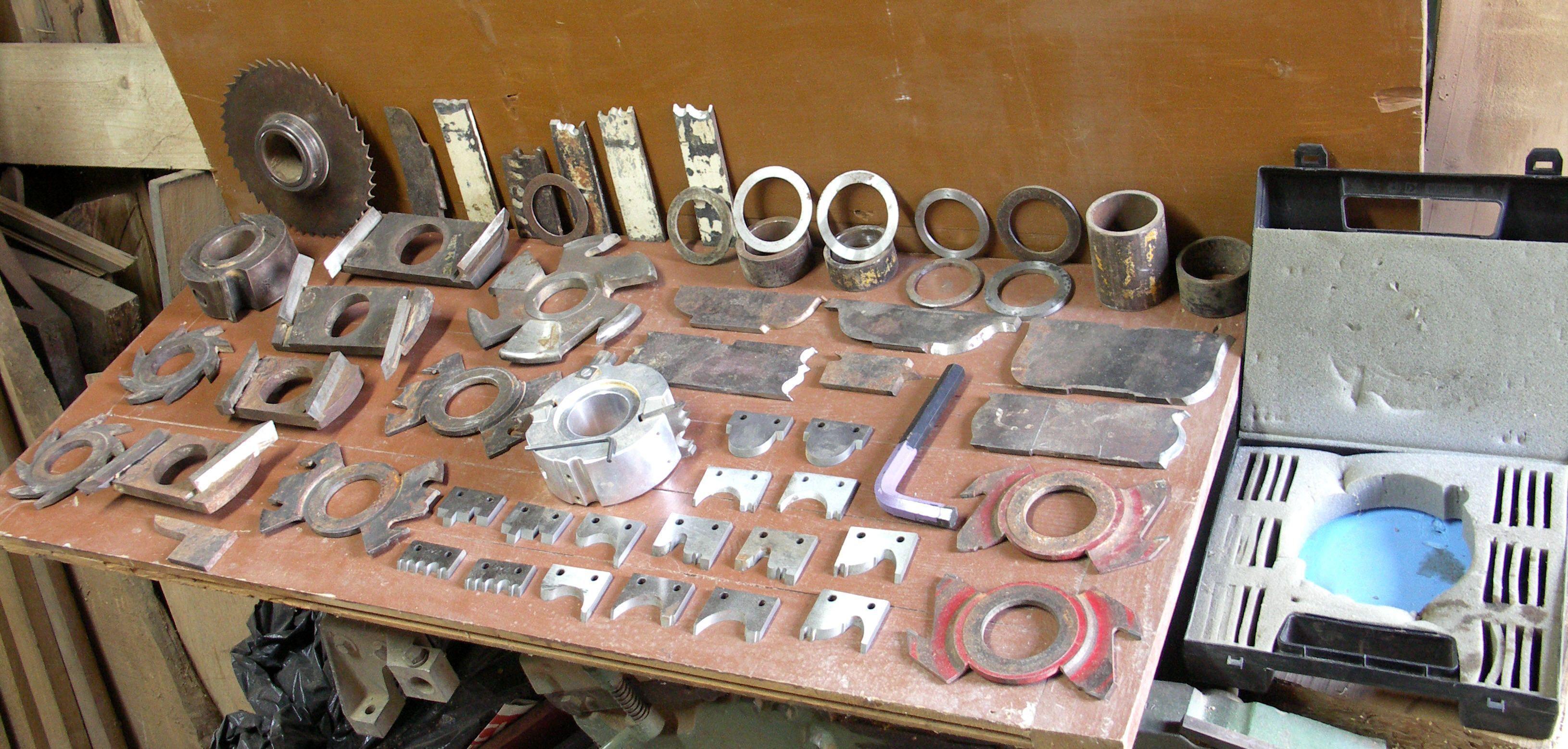 Atelier mes outils mes machines - Toupie a bois ...